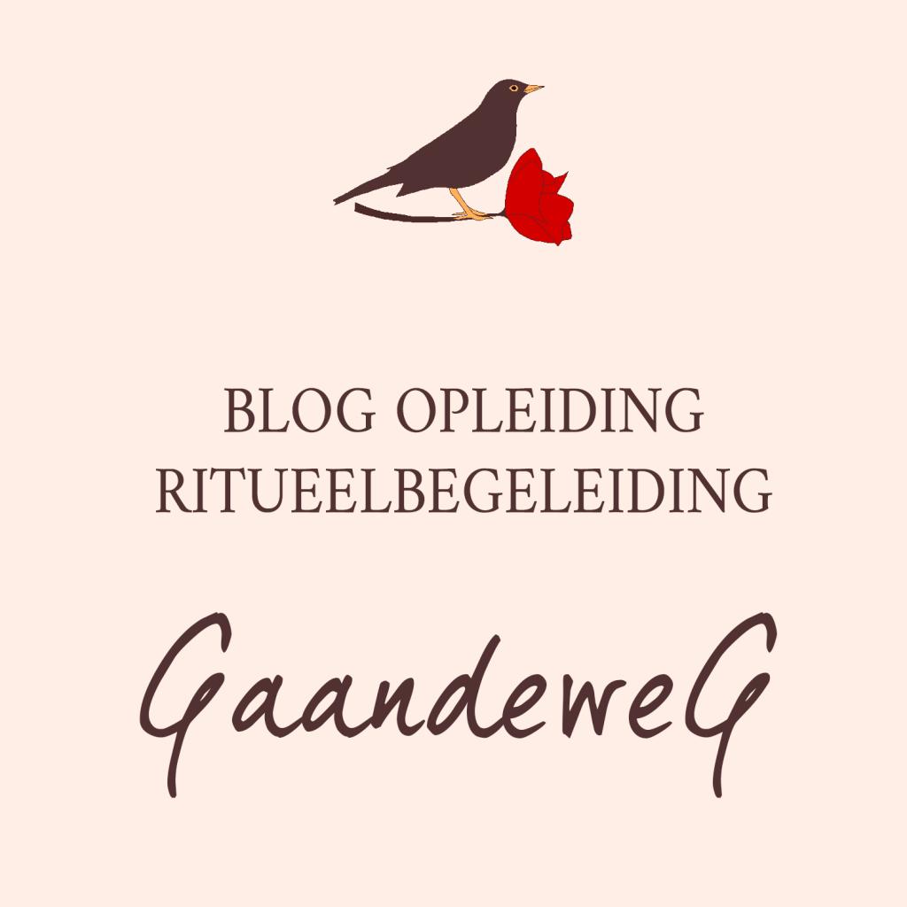 Blog Opleiding Ritueelbegeleiding Gaandeweg